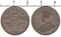 Изображение Монеты Канада 5 центов 1923 Медно-никель XF-