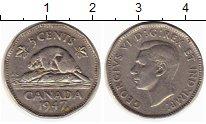 Изображение Монеты Канада 5 центов 1947 Медно-никель XF-