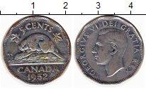 Изображение Монеты Канада 5 центов 1952 Медно-никель XF-