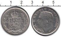 Изображение Монеты Румыния 100 лей 1936 Медно-никель UNC-