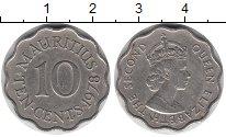 Изображение Монеты Маврикий 10 центов 1978 Медно-никель XF-