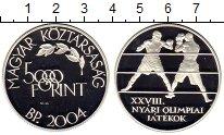 Изображение Монеты Венгрия 5000 форинтов 2004 Серебро Proof-