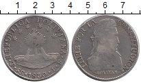 Изображение Монеты Боливия 8 солей 1830 Серебро XF-