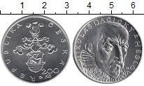 Изображение Монеты Чехия 200 крон 2005 Серебро UNC