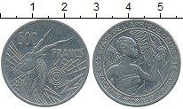 Изображение Монеты Конго 500 франков 1977 Медно-никель XF