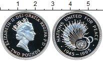 Изображение Монеты Великобритания 2 фунта 1995 Серебро Proof