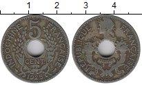 Изображение Монеты Индокитай 5 центов 1925 Медно-никель VF