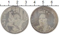 Монета Нидерланды 10 евро Серебро 2005 UNC- фото
