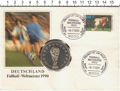 Изображение Монеты Германия Чемпионат Мира по Футболу в Италии 1990 Медно-никель UNC