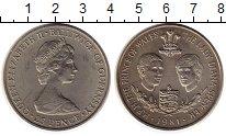 Изображение Монеты Великобритания Гернси 25 пенсов 1981 Медно-никель UNC-