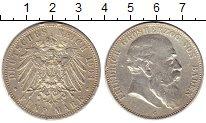 Изображение Монеты Германия Баден 5 марок 1904 Серебро VF+