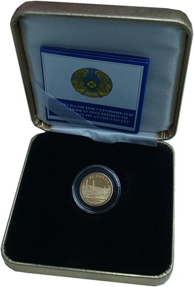 Изображение Подарочные монеты Казахстан 500 тенге 2006 Золото Proof `Серия ``Знаменитые