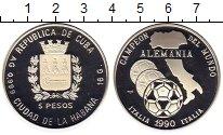 Изображение Монеты Куба 5 песо 1990 Серебро Proof