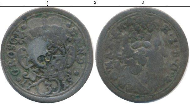 Картинка Монеты Бавария 3 крейцера Серебро 1715