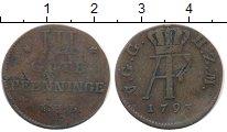 Изображение Монеты Германия Мекленбург-Шверин 3 пфеннига 1793 Медь VF