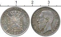 Изображение Монеты Бельгия 50 сантим 1898 Серебро XF+