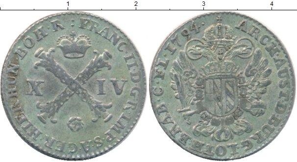Картинка Монеты Нидерланды 14 лиардов Серебро 1794
