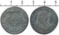 Изображение Монеты Германия Оттинген 4 крейцера 1677 Серебро XF-