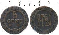 Изображение Монеты Германия Вестфалия 5 сантим 1812 Медь XF-