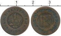 Изображение Монеты Германия Вестфалия 1 сантим 1809 Медь VF