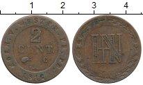 Изображение Монеты Германия Вестфалия 2 сантима 1812 Медь VF+