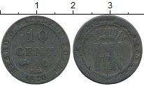Изображение Монеты Германия Вестфалия 10 сантим 1810 Серебро VF