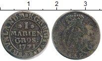 Изображение Монеты Германия Брауншвайг-Люнебург 1 грош 1771 Серебро VF