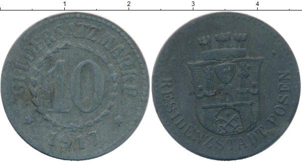 Картинка Монеты Германия : Нотгельды 10 пфеннигов Цинк 1917