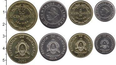 Изображение Наборы монет Гондурас Гондурас 2012-2014 2012  UNC- В наборе 4 монеты но
