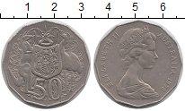 Изображение Монеты Австралия 50 центов 1975 Медно-никель XF