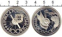 Изображение Монеты Португалия 100 эскудо 1987 Серебро Proof-