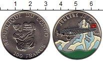 Изображение Монеты Конго 100 франков 1995 Медно-никель UNC