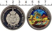 Изображение Монеты Мальтийский орден 100 лир 2000 Медно-никель Proof