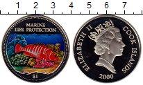 Изображение Монеты Острова Кука 1 доллар 2000 Медно-никель Proof
