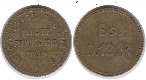 Картинка Монеты Венесуэла 0,12 1/2 боливара Латунь 1939