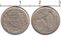 Изображение Монеты Чили 5 сентаво 1919 Серебро XF