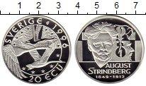 Изображение Монеты Швеция 20 экю 1996 Серебро Proof-