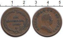 Изображение Монеты Австрия 1 крейцер 1780 Медь VF