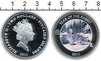 Изображение Монеты Великобритания Острова Питкэрн 2 доллара 2011 Серебро Proof