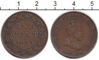 Монета Канада 1 цент Бронза 1903 XF фото