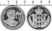 Изображение Монеты Новая Зеландия Ниуэ 5 долларов 1992 Серебро Proof-