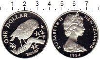 Изображение Мелочь Новая Зеландия 1 доллар 1984 Серебро Proof
