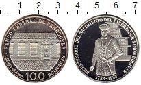 Монета Венесуэла 100 боливар Серебро 1983 UNC- фото