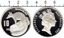Монета Австралия 10 долларов Серебро 1995 Proof фото