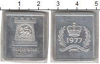 Изображение Монеты Остров Мэн Жетон 1977 Серебро Proof-
