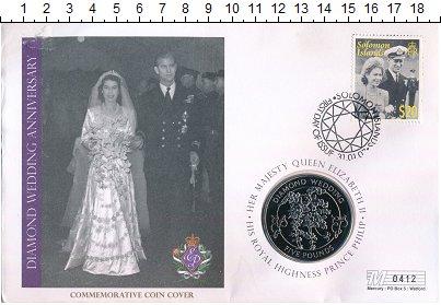 Изображение Подарочные монеты Гернси 5 фунтов 2007 Медно-никель UNC Бриллиантовая свадьб