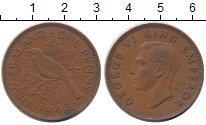 Изображение Монеты Новая Зеландия 1 пенни 1943 Бронза XF