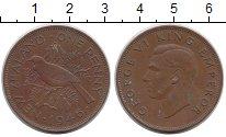 Изображение Монеты Новая Зеландия 1 пенни 1946 Бронза XF