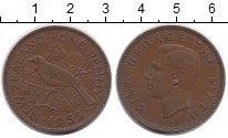 Изображение Монеты Новая Зеландия 1 пенни 1952 Бронза XF