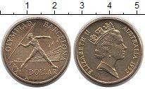 Изображение Монеты Австралия 1 доллар 1992 Латунь UNC-